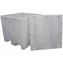 Squared pallet-tub