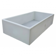 Square collection tub