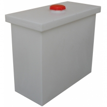 350 liters Industrial tub w. lid